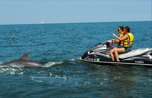 Clear Water Jet Ski 37