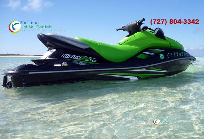 Clear Water Jet Ski 102
